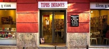 0.Librería Tipos infames Madrid-Trabalibros