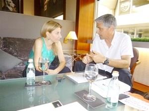 1.Bruno Montano de Trabalibros entrevista a Eva García Sáenz