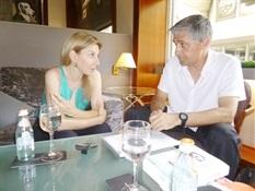 8.Bruno Montano de Trabalibros entrevista a Eva García Sáenz