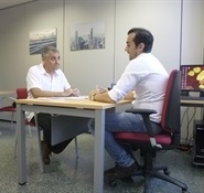 7.Bruno Montano entrevista a Luis Moya Albiol-Trabalibros