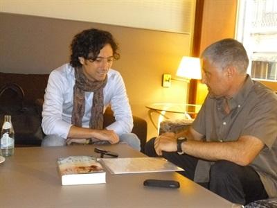 4. Bruno Montano de Trabalibros entrevista a Andrés Pascual