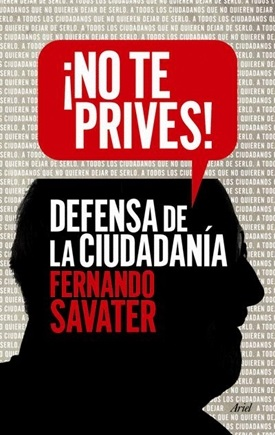 ¡No te prives! (Fernando Savater)-Trabalibros