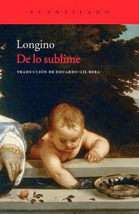 De lo sublime (Longino)-Trabalibros