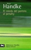 El miedo del portero al penalty (Peter Handke)-Trabalibros