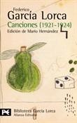 Canciones (Federico García Lorca)-Trabalibros