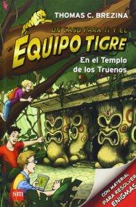 Equipo Tigre en el Templo de los Truenos-Trabalibros