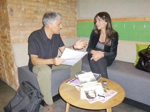 1.Bruno Montano de Trabalibros entrevista a Marta Fernández