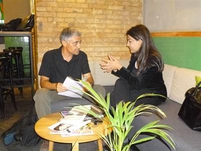 7.Bruno Montano de Trabalibros entrevista a Marta Fernández