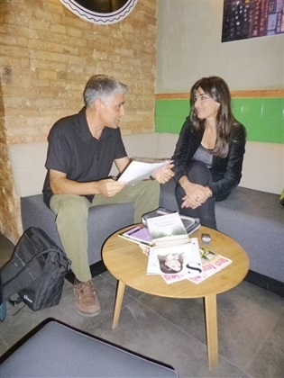 0.Bruno Montano de Trabalibros entrevista a Marta Fernández
