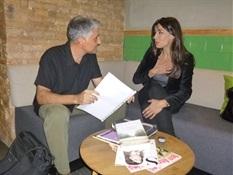 10.Bruno Montano de Trabalibros entrevista a Marta Fernández