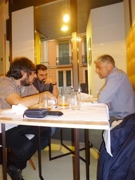 0.Bruno Montano de Trabalibros entrevista a Javier Ikaz y Jorge Díaz