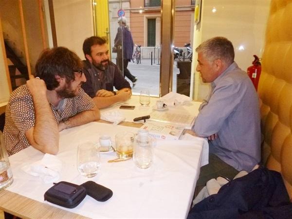1.Bruno Montano de Trabalibros entrevista a Javier Ikaz y Jorge Díaz
