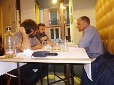 8.Bruno Montano de Trabalibros entrevista a Javier Ikaz y Jorge Díaz