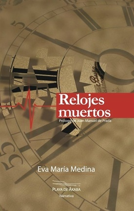Portada Relojes muertos (Eva María Medina)-Trabalibros