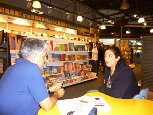01.Bruno Montano de Trabalibros entrevista a María Frisa