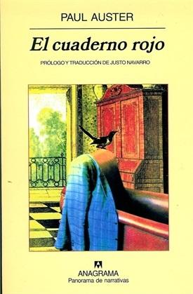 El cuaderno rojo (Paul Auster)-Trabalibros