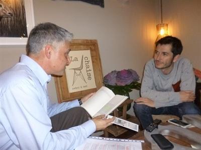 06.Bruno Montano de Trabalibros entrevista a Carlos del Amor