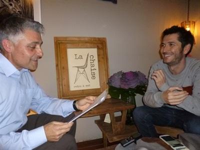 04.Bruno Montano de Trabalibros entrevista a Carlos del Amor
